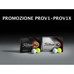 Pack Titleist Prov1-Prov1X New Edition