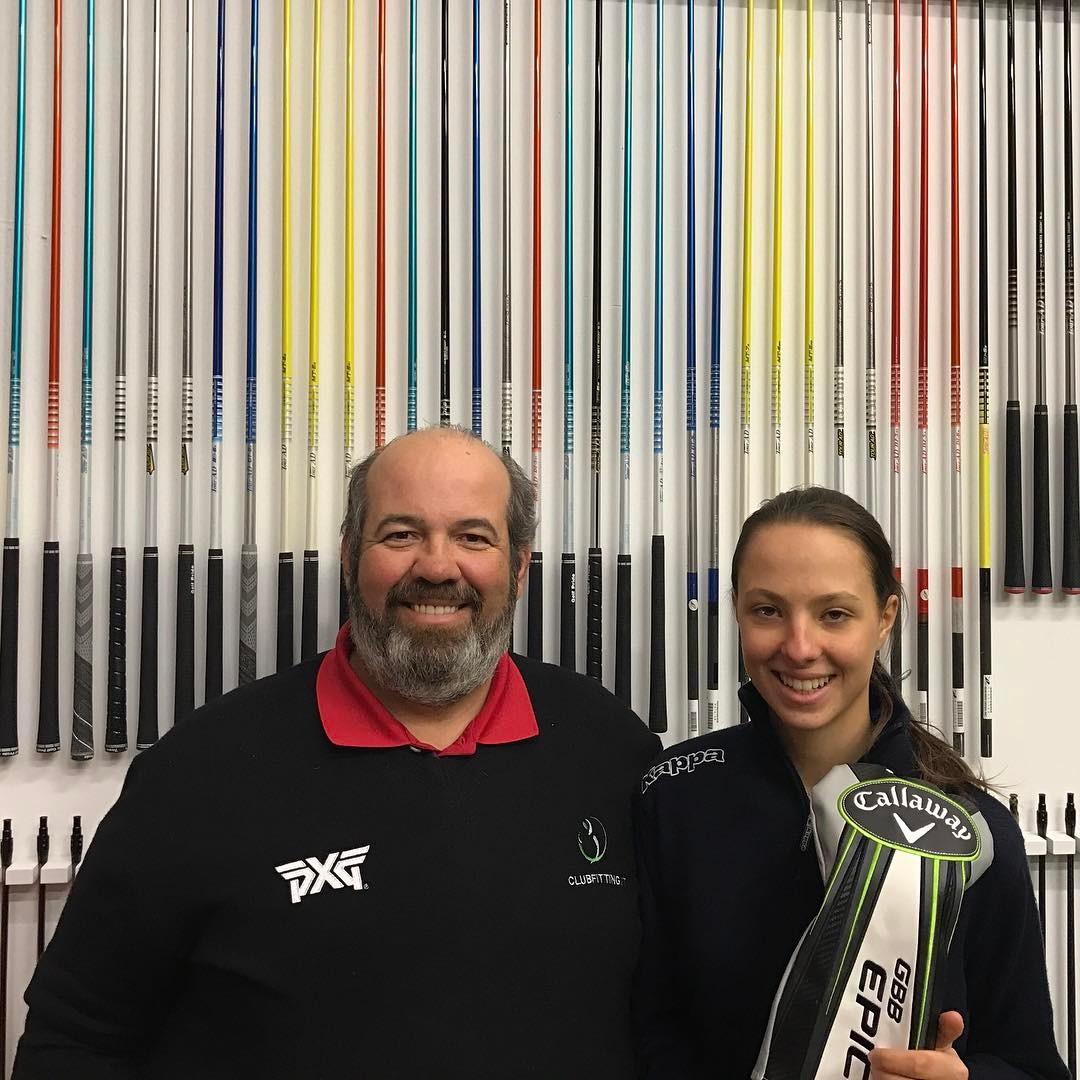 Un piacere avere @clubfitting Emilie Alba Paltrinieri vincitrice Girls British Open Amateur. @emi.paltrinieri