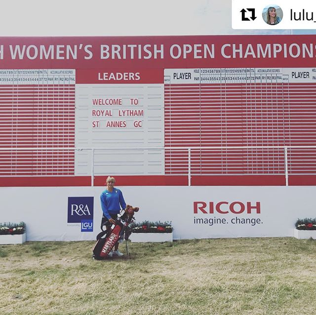 @lulu_farina with @get_repost ・・・ yeaaa so here I am practicing from these crazy facilities trying to hold my nerves while being surrounded by players like Laura Davis, Lydia Ko and so on… attending one of the five majors not fully sure where the line between reality and dreaming is… everything seems like an incredible dream too cool to be real like I m gonna wake up in a second and yet I m not yet awake does this mean I actually really made it? Anyway I m intended to enjoy every single moment at its fullest and learn as much as I can from this amazing experience owning every minute of it with the hope that I will be able to control my excitement and nerves until the very end! A special thanks goes to all of those who helped me along the path @mediterraneagolfacademy @trentingolf @terpswgolf @clubfitting @federazioneitalianagolf to be the golfer I am today! and to all of those who are supporting me constantly since my qualification! I love y'all guys 🙌🏼❤️ like any good italian would say: e mo' gia che siamo in ballo, balliamo 💃🏼🇮🇹🐢⛳️🏌🏼‍♀️ PS: for more insight about the tournament and my experience go and follow @terpswgolf for tomorrow live video at 4pm london time) 11am (eastern time