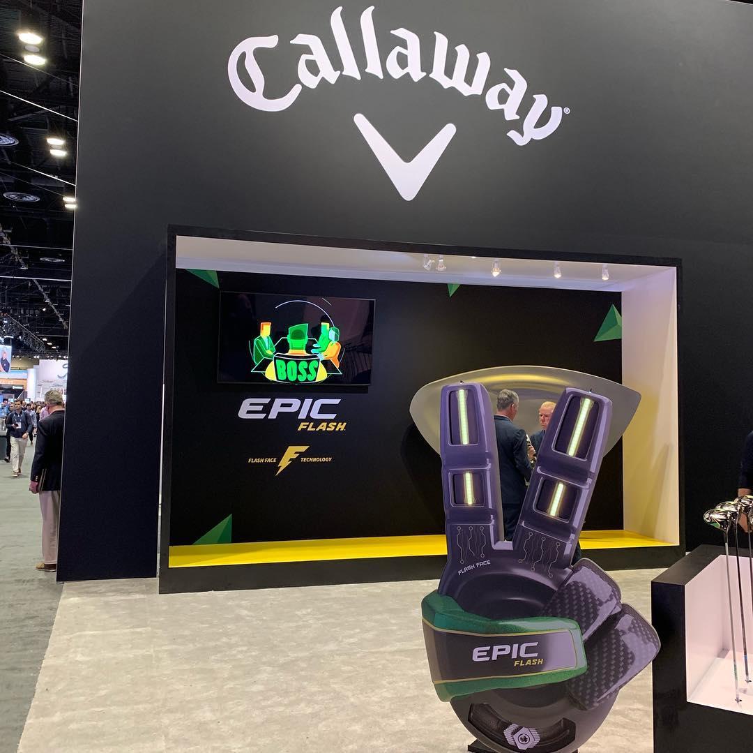 PGAShow 2019 stand Callaway…. piccolo @callawaygolf