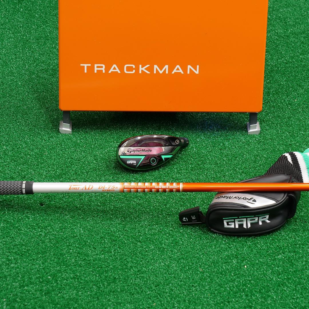 Custom GRPR 3/19* accuracy and power!!!! @taylormadegolf @proschoice.graphitedesign @trackmangolf @golfpridegrips