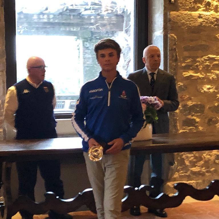 Grande Pietro vincitore a Varese @pietroopontiggia