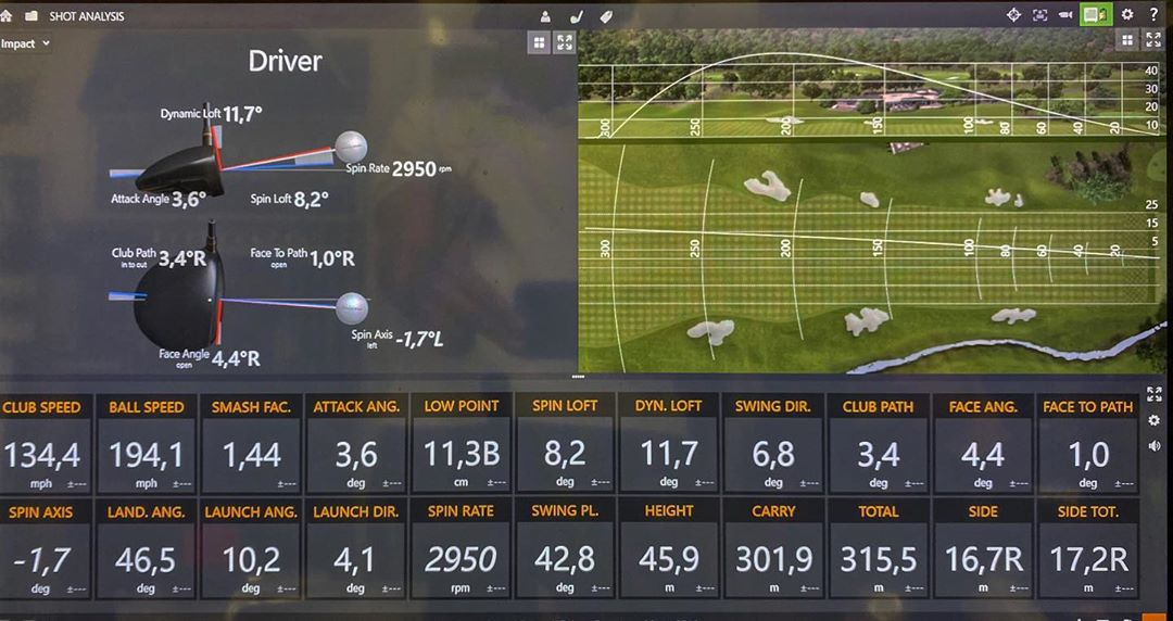 Best drive ever @clubfitting come to see your numbers!!!