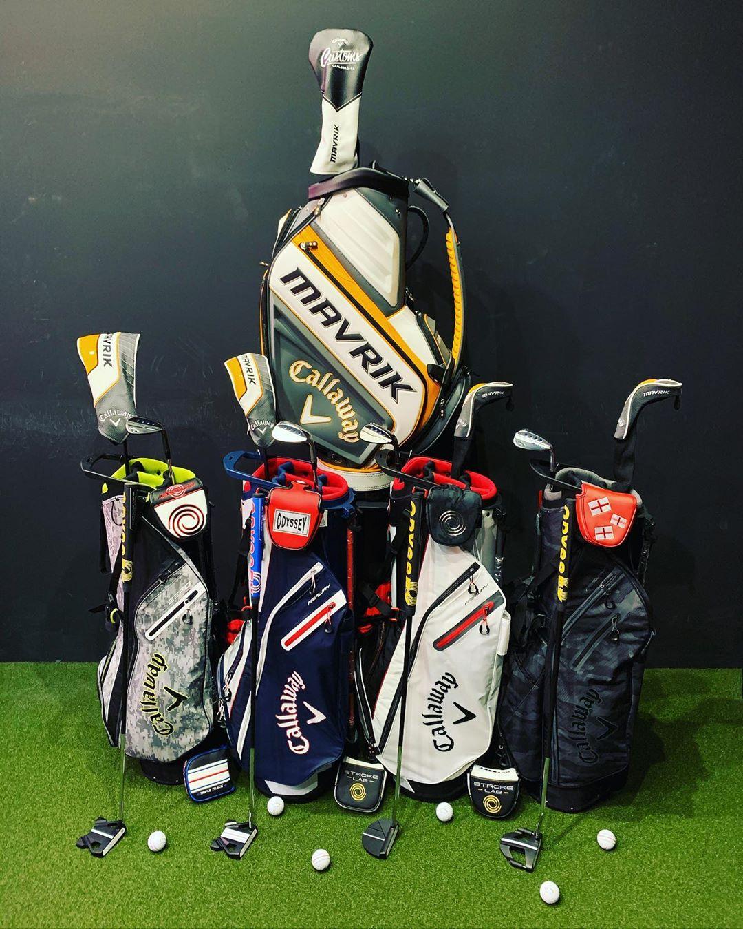callaway callawaygolf golfbags Mavrick odyssey strokelab tripletrack md5 custom clubfitting